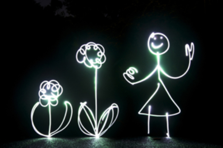 Painting with light Photography workshops